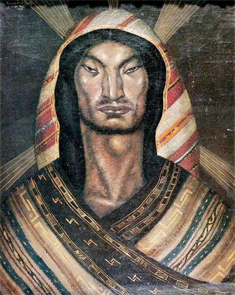 Cristo Andino de Cecilio Guzmán de Rojas