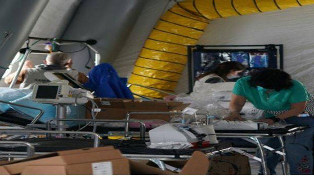 equipo_medico_eeuu_hospital_afp