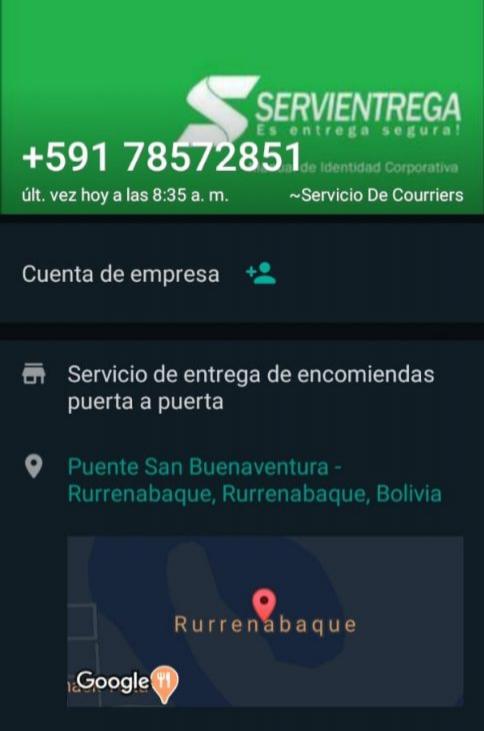 El Observatorio de Delitos Informáticos Bolivia alerta de cobros por un servicio de entrega de encomiendas por courier y del robo de datos personales de las víctimas.