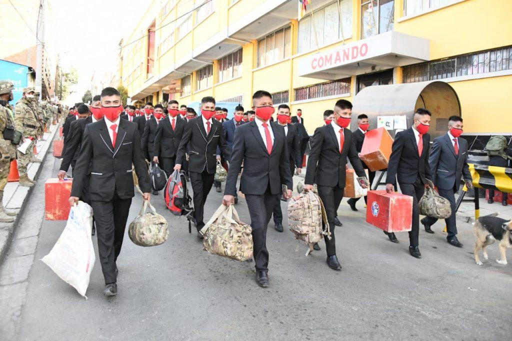 En actos sencillos, sin invitados, 7.679 conscriptos fueron licenciados de los cuarteles