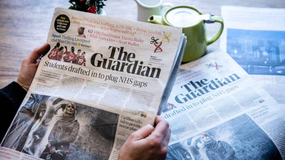 Los medios británicos BBC y The Guardian despiden a 250 trabajadores por la  crisis de la pandemia - La Razón   Noticias de Bolivia y el Mundo
