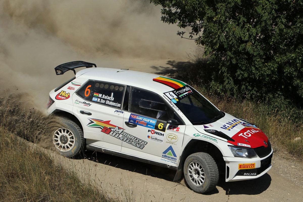 Bulacia gana el Rally de San Marino y ahora apunta a Estonia - La Razón    Noticias de Bolivia y el Mundo