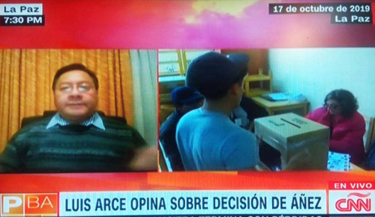 Arce dice que le preocupa que en octubre se geste un fraude contra el MAS en Bolivia