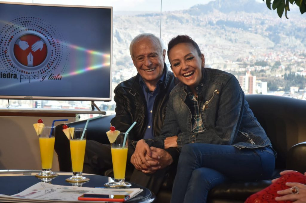 David Santalla y Sandra Saavedra