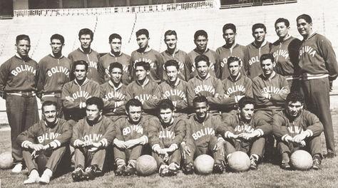 Todos los integrantes de la selección boliviana, campeona sudamericana de 1963. Foto: Archivo Eduardo Salcedo