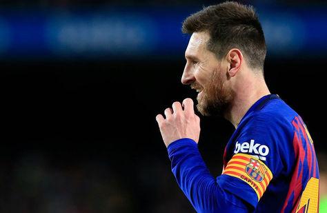 El argentino Lionel Messi