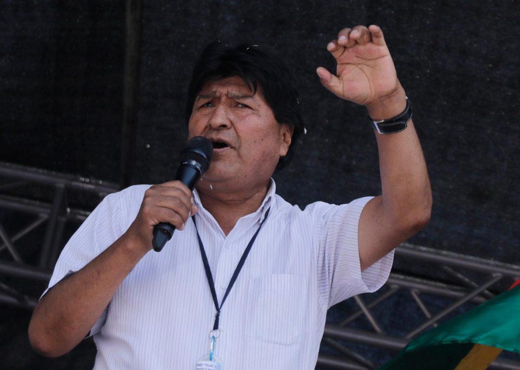 Evo Morales. Foto: APG.