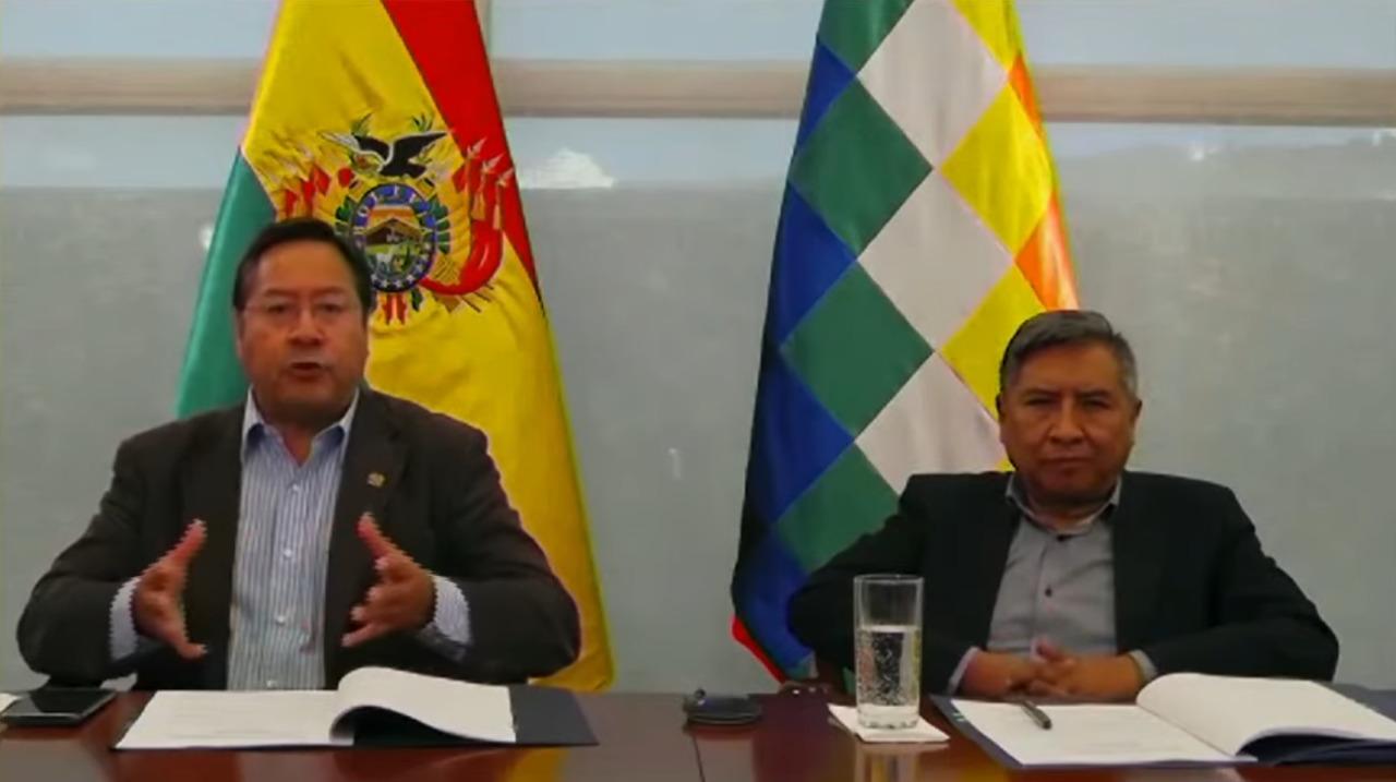 En la Cumbre Iberoamericana, Arce pide lucha conjunta contra el COVID-19 y  liberar patentes de vacunas - La Razón | Noticias de Bolivia y el Mundo