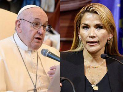 El gobierno de Áñez ignoró en 2020 el pedido del Papa Francisco de  salvoconductos para asilados - La Razón | Noticias de Bolivia y el Mundo