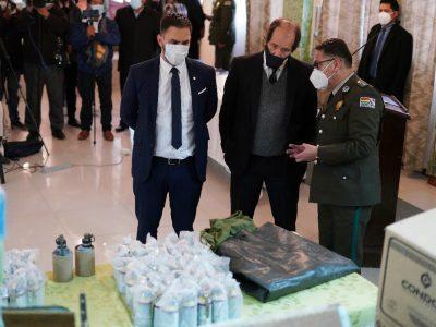 El Gobierno busca video de la descarga de pertrechos que habría filmado un  militar - La Razón   Noticias de Bolivia y el Mundo